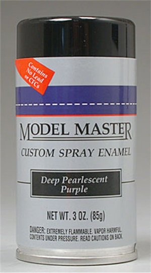 Deep Pearlescent Purple Enamel