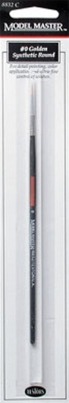 No. 0 Synthetic Round Paint Brush
