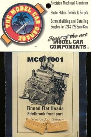 Finned Flat Heads, Edelbrock Front Port 1/25 & 1/24