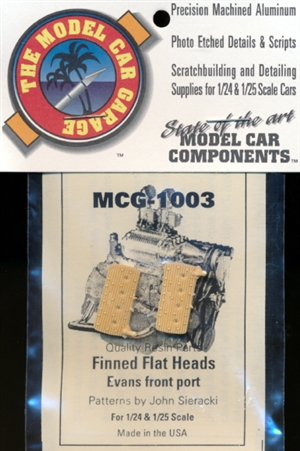 Finned Flat Heads, Evans Front Port 1/25 & 1/24