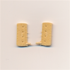 Finned Flat Heads Sharp Front Port 1/25 & 1/24