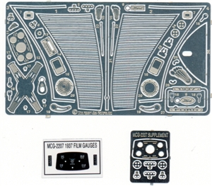 1937 Ford Grill and Detail Set for 1/24 Revell kits