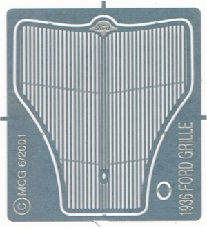 1936 Ford Grille for 1/25 AMT kits
