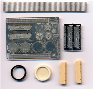 Edelbrock Engine Dress up Kit  for 1/25 & 1/24 (Small Block Ford, Dual Air Cleaners)
