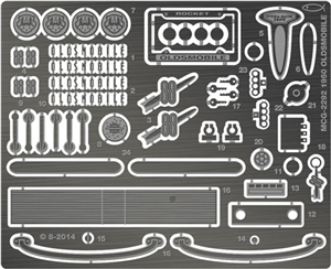 1950 Oldsmobile Photo-Etch Detail Set for Revell-Monogram kits