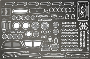 1955 Chrysler Photo-Etch Detail Set for Moebius kits