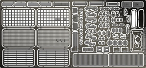 1972 Oldsmobile 442 Photo-Etch Detail Set for Revell and Johan Kits