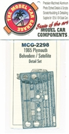 1965 Plymouth Belvedere-Satellite Photo-Etch Detail Set for Moebius Kits