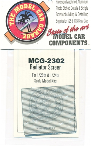 Radiator Screen for 1:25 & 1:24 Scale Kits