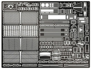 1983-1985 Oldsmobile Photo-Etch Detail Set for Revell Kits (1/25)