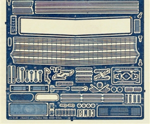 "1965 Mercury Comet Photo-Etch Detail Set for Moebius Kits<br><span style=""color: rgb(255, 0, 0);"">Model Roundup Exclusive</span>"
