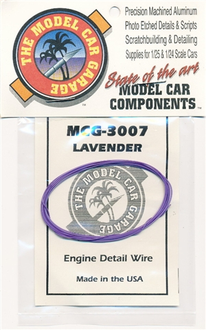 Engine Detail Wire Lavender