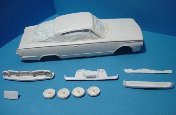 1965 Plymouth Barracuda 1/25
