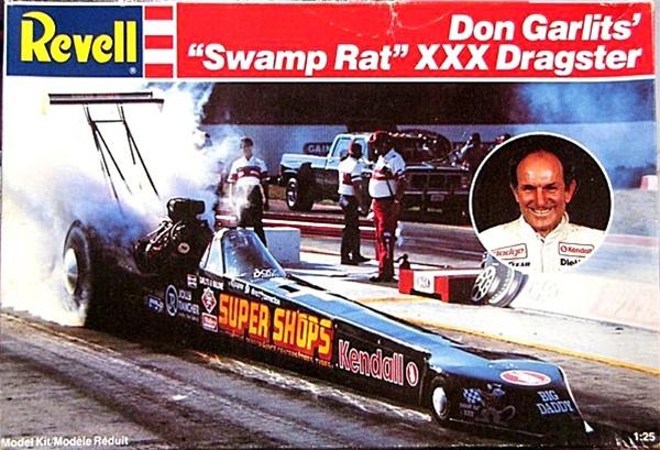 Don Garlits' Swamp Rat XXX Rear Engine Rail Dragster (1/25) (fs)