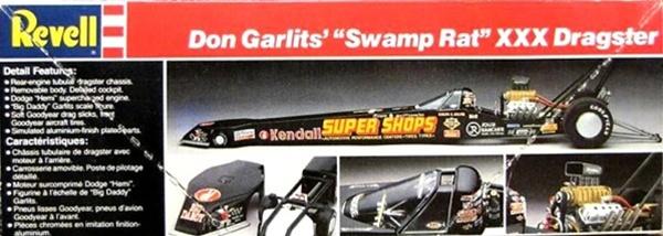 Aftermarket Car Parts >> Don Garlits' Swamp Rat XXX Rear Engine Rail Dragster (1/25)