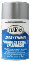 Silver Metallic Spray Enamel (3 oz)